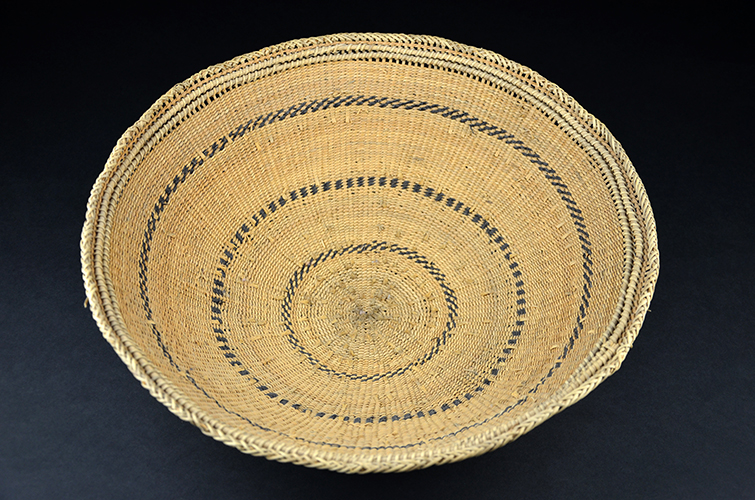 Yanamamo Indian Tribe Natural Fiber Hand Woven Basket South America