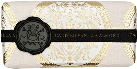 MOR Emporium Collection Candied Almond Vanilla Body Wash Lotion Hand Cream Bar Soap