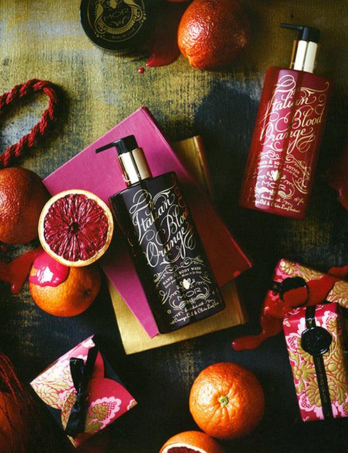 MOR Emporium Collection Italian Blood Orange Body Wash Lotion Hand Cream Bar Soap