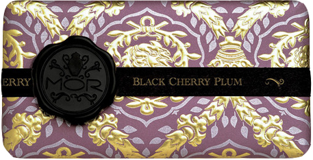 MOR Emporium Collection Black Cherry Plum Body Wash Lotion Hand Cream Bar Soap
