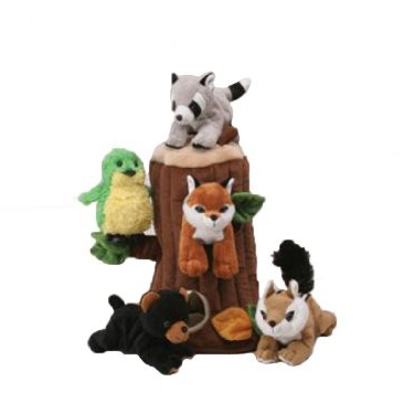 Unipak Designs Plush Stuffed Animal Toys Kids Forest Tree Dinosaur Unicorn Airplane House
